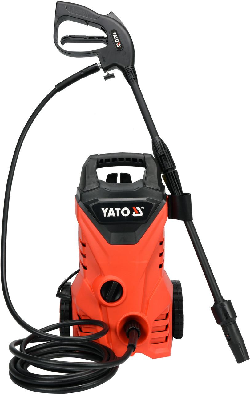 Мойка высокого давления YATO 1400 Вт 10.5 МПа 5 л/мин 5 м