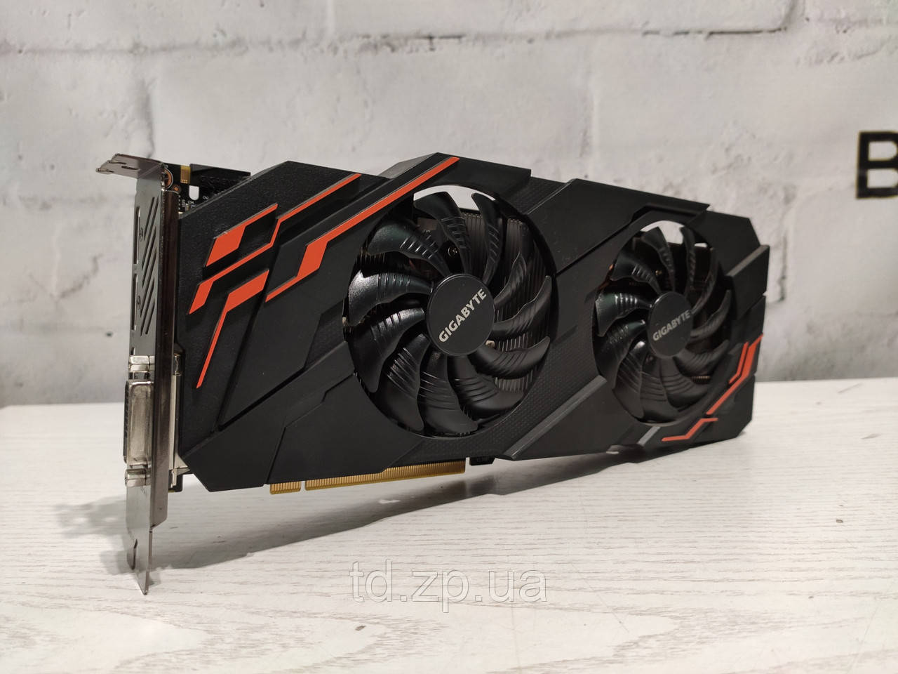 Видеокарта Gigabyte GeForce GTX 1070 8Gb