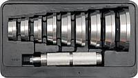 Набір для встановлення сальників ущільнювачів YATO Ø= 40-81 мм, 10 шт. [5/10], фото 1