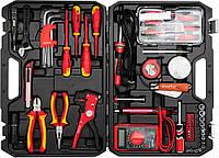 Набір інструментів для електриків YATO, 68 шт., фото 1
