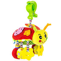 Игрушка-подвеска Mioobaby Божья коровка (BS704)