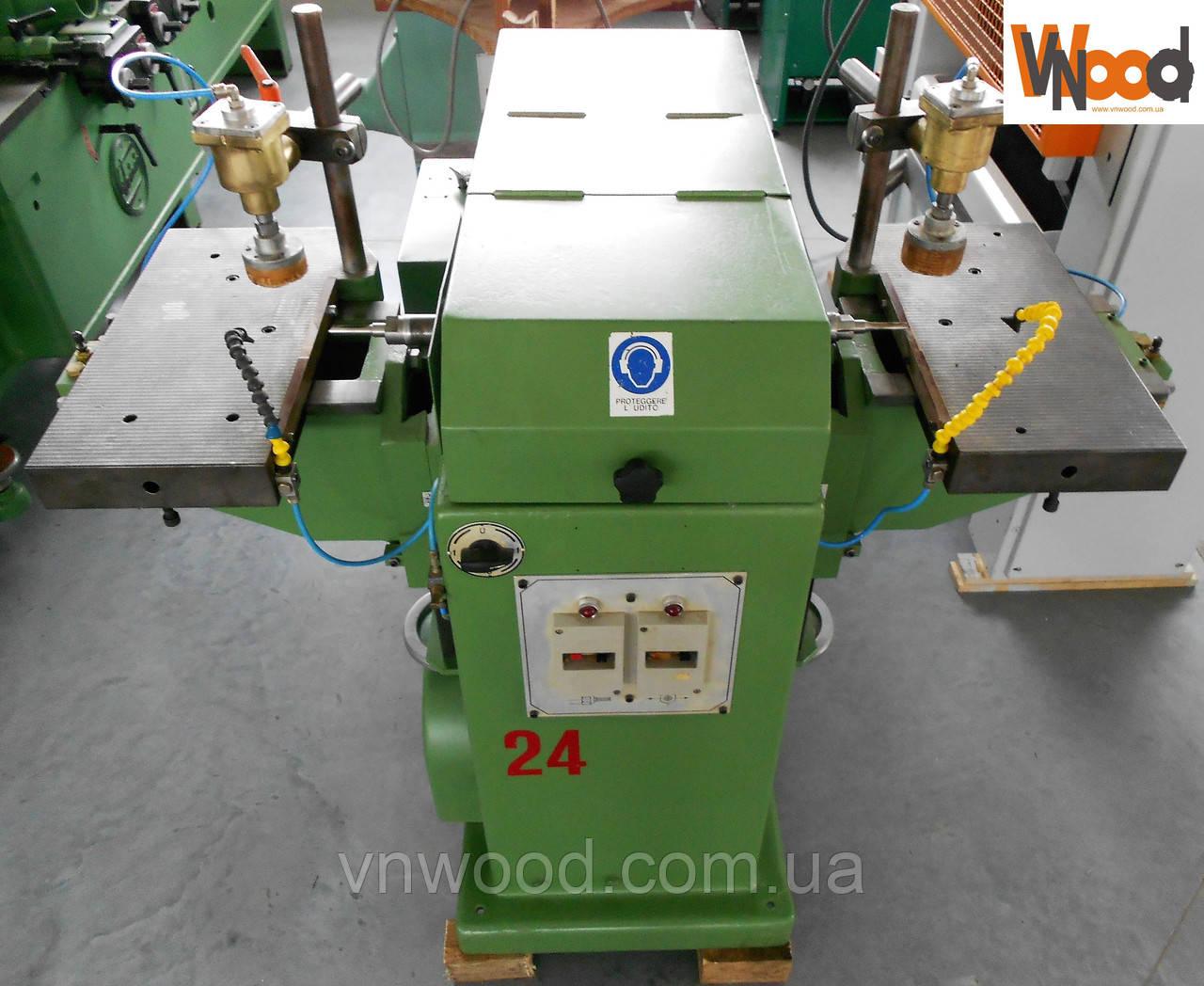 Двохсторонній автоматичний свердлильно - пазувальний верстат Pade