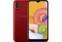 Смартфон SAMSUNG Galaxy A01 2/16GB Red (SM-A015FZRDSEK)