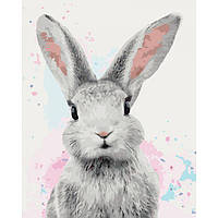 Картина по номерам Нежный кролик