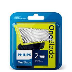 Сменные лезвия Philips OneBlade QP220/50 2 шт. ЕС