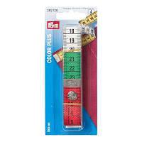 """Измерительная лента с кнопкой """"Color Plus """",150 см,Prym"""