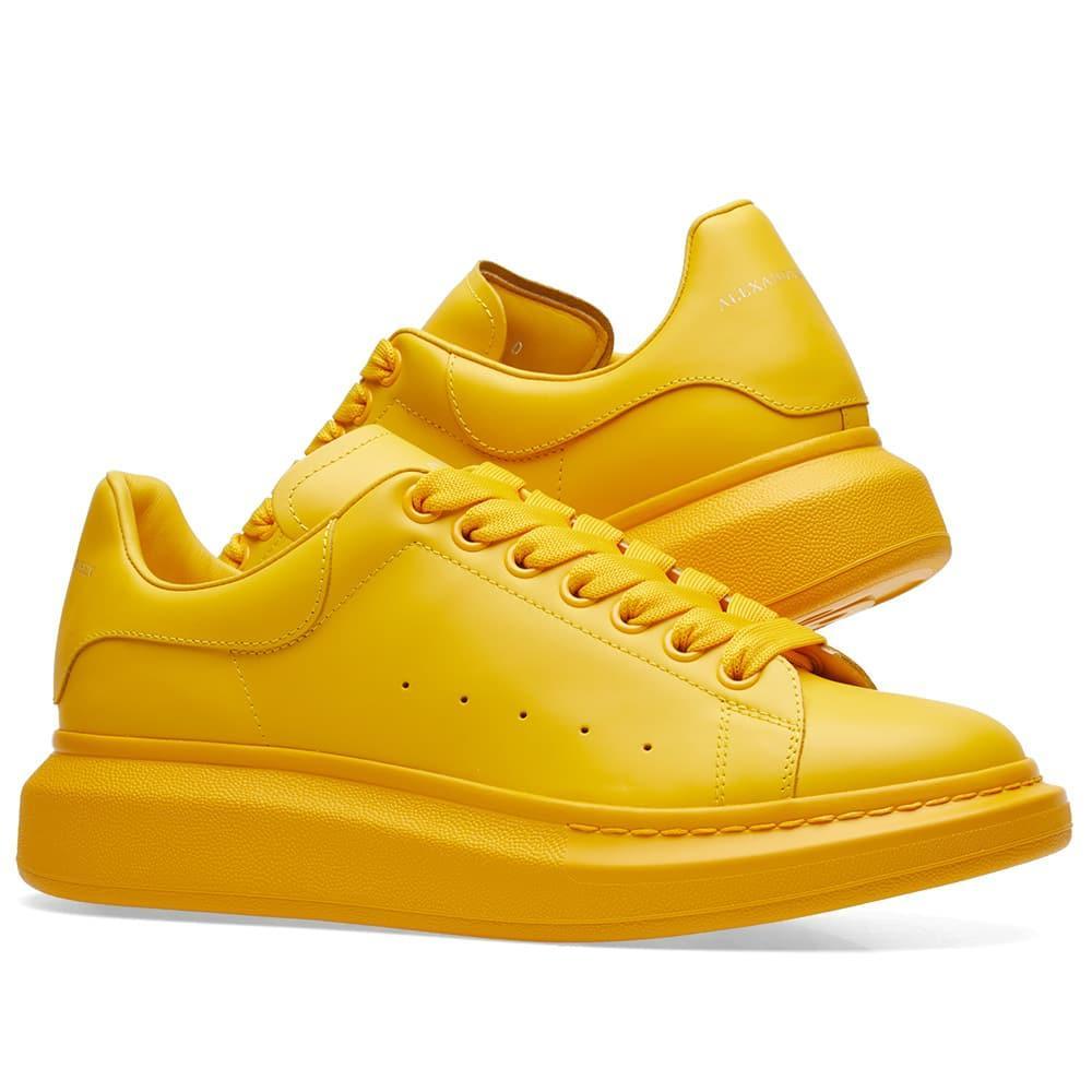 """Кросівки Alexander McQueen """"Жовті"""""""
