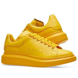 """Кросівки Alexander McQueen """"Жовті"""", фото 2"""