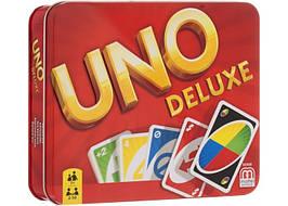 Настольная игра UNO Deluxe (Уно Делюкс)