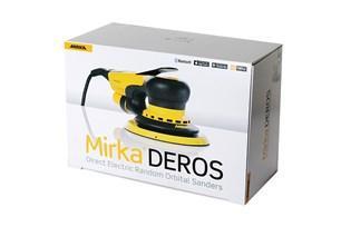 Шлімашинка електрична Mirka DEROS 650CV 150mm Central Vacuum Orbit 5,0