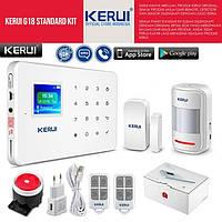 GSM сигнализация G-18 G18 KERUI Керуи (набор датчик движения+открытия)