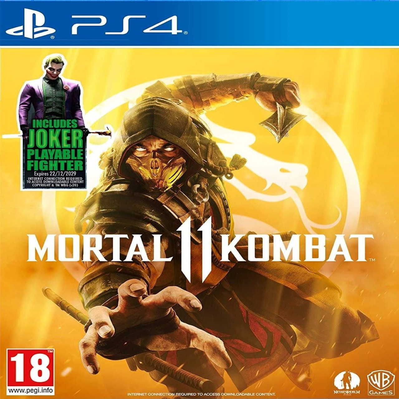 Mortal Kombat 11 + Joker (російські субтитри) PS4