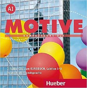 Motive A1 Audio CDs zum Kursbuch Lektion 1–8