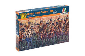 Британская легкая кавалерия 1815 года. 1/72 ITALERI 6094
