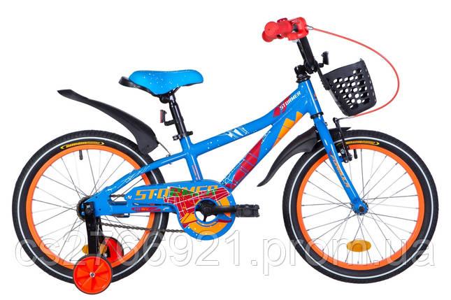 """Велосипед AL 18"""" Formula STORMER с крылом Pl, с корзиной Pl 2020, фото 2"""