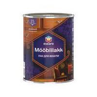 Eskaro Mooblilakk 15 0,9л Водоразбавляемый акриловый лак для мебели и других деревянных поверхностей