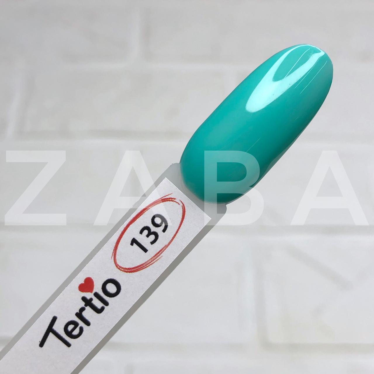 Гель-лак Tertio №139 - светлый мятный, 10 мл