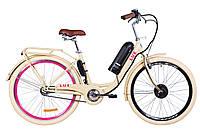 "Электровелосипед 26"" LUX, 350Вт 36В, 10Ач, макс.пробег 40км, 40 км/ч"