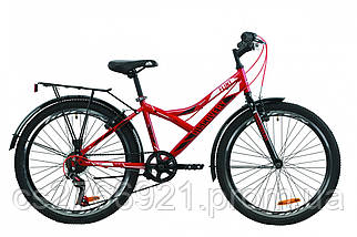 "Велосипед 24"" Discovery FLINT 14G Vbr St с багажником зад St, с крылом St 2020, фото 3"