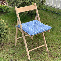 Подушка на стул Кедр на Ливане квадратная стеганная серия Joy 40х40х7