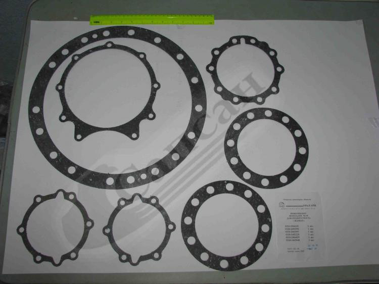 Комплект прокладок  редуктора  среднего  моста (паронит) 6 позиций). 5320-2500000