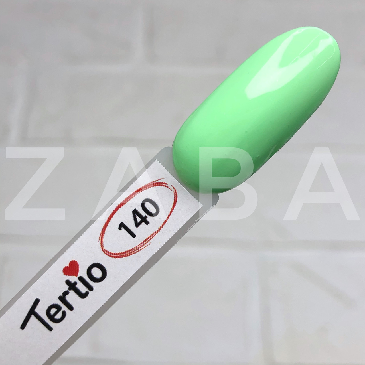 Гель-лак Tertio №140 - бледно-мятный, 10 мл