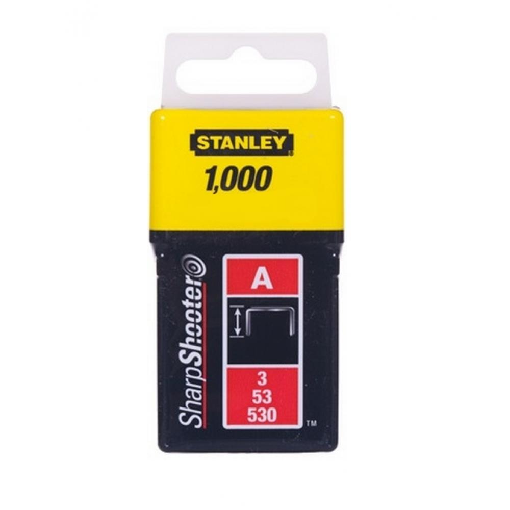 Скобы для степлера 14 мм тип A STANLEY (1-TRA209T) 1000 шт.
