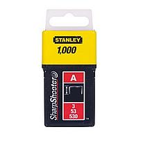 Скобы для степлера 14мм тип A STANLEY (1-TRA209T) 1000 шт.