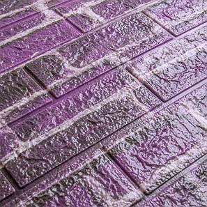 3D декоративная панель для стен цветной кирпич (самоклейка), фото 2