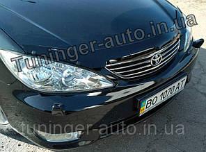 Мухобойка,дефлектор капота Toyota Camry 30 2001-2006(Hic)