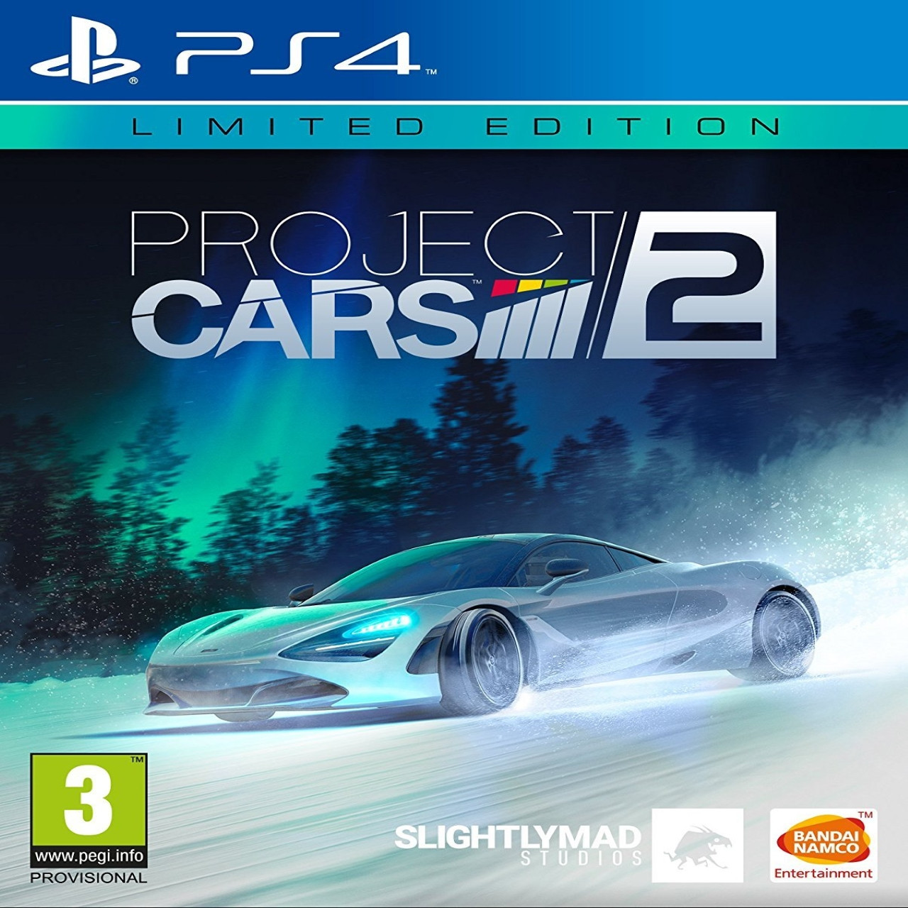 Project Cars 2 Limited Edition (русские субтитры) PS4
