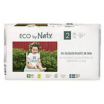 Органические подгузники Eco by Naty Размер 2 (от 3 до 6 кг) 33 шт