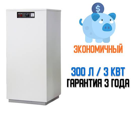 Водонагреватель накопительный Днипро 300 л. 3 кВт, фото 2