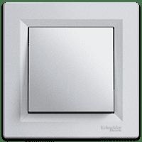 Выключатель 1-клавишный Asfora, (белый)