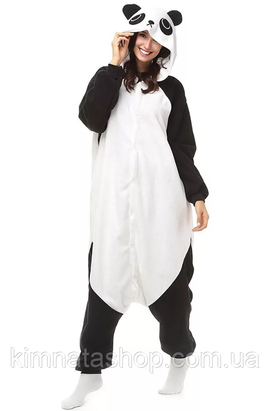 Кигуруми  Панда  S рост 145-155 см - ріжама кігурумі панда