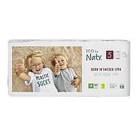 Органические подгузники трусики Eco by Naty Размер 5 (от 12 до 18 кг) 34 шт