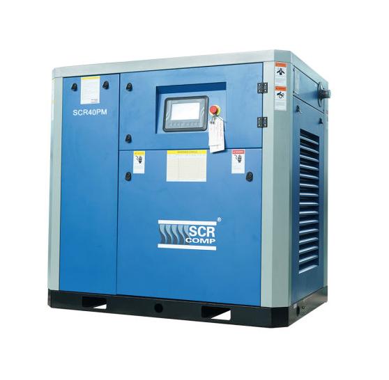 Компресор SCR 40 РМ (30 кВт, 1.04 - 5.2 м3/хв) прямий привід, частотник, двигун на постійних магнітах