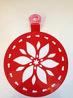 Трафарет средний диаметр 15 см Цветочек