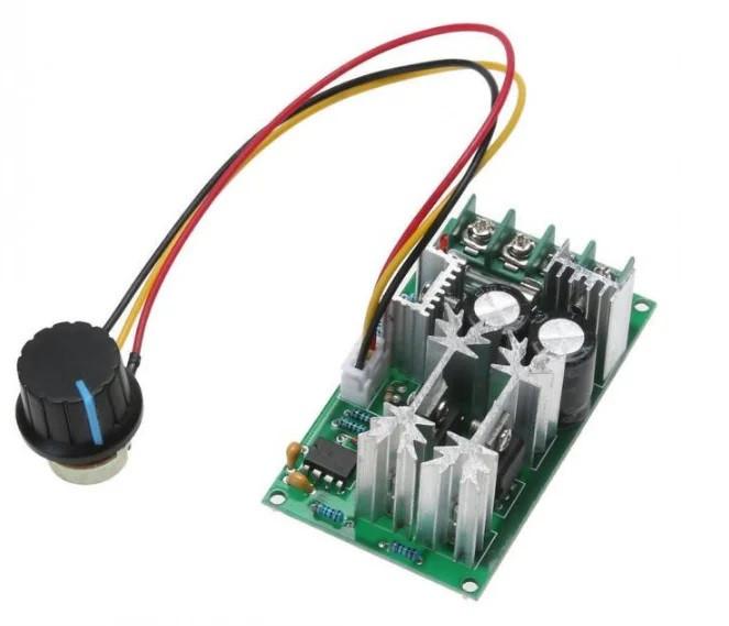 ШИМ контроллер. Управление скоростью двигателя постоянного тока с регулировкой 10-60В 20А