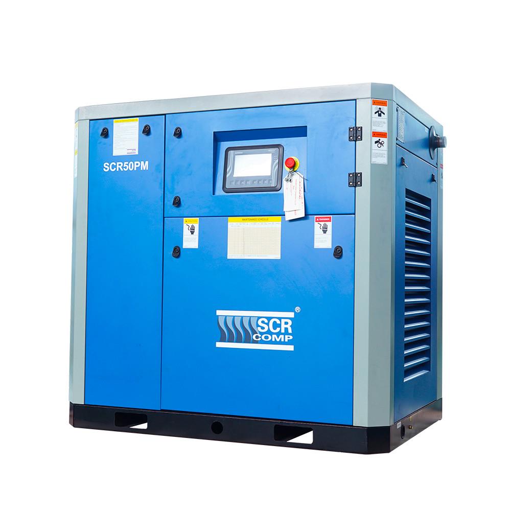 Компресор SCR 50 РМ (37 кВт, 1.28 - 6.4 м3/хв) прямий привід, частотник, двигун на постійних магнітах