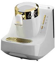 Кофемашина для кофе по-турецки ARZUM OKKA Белая Золото