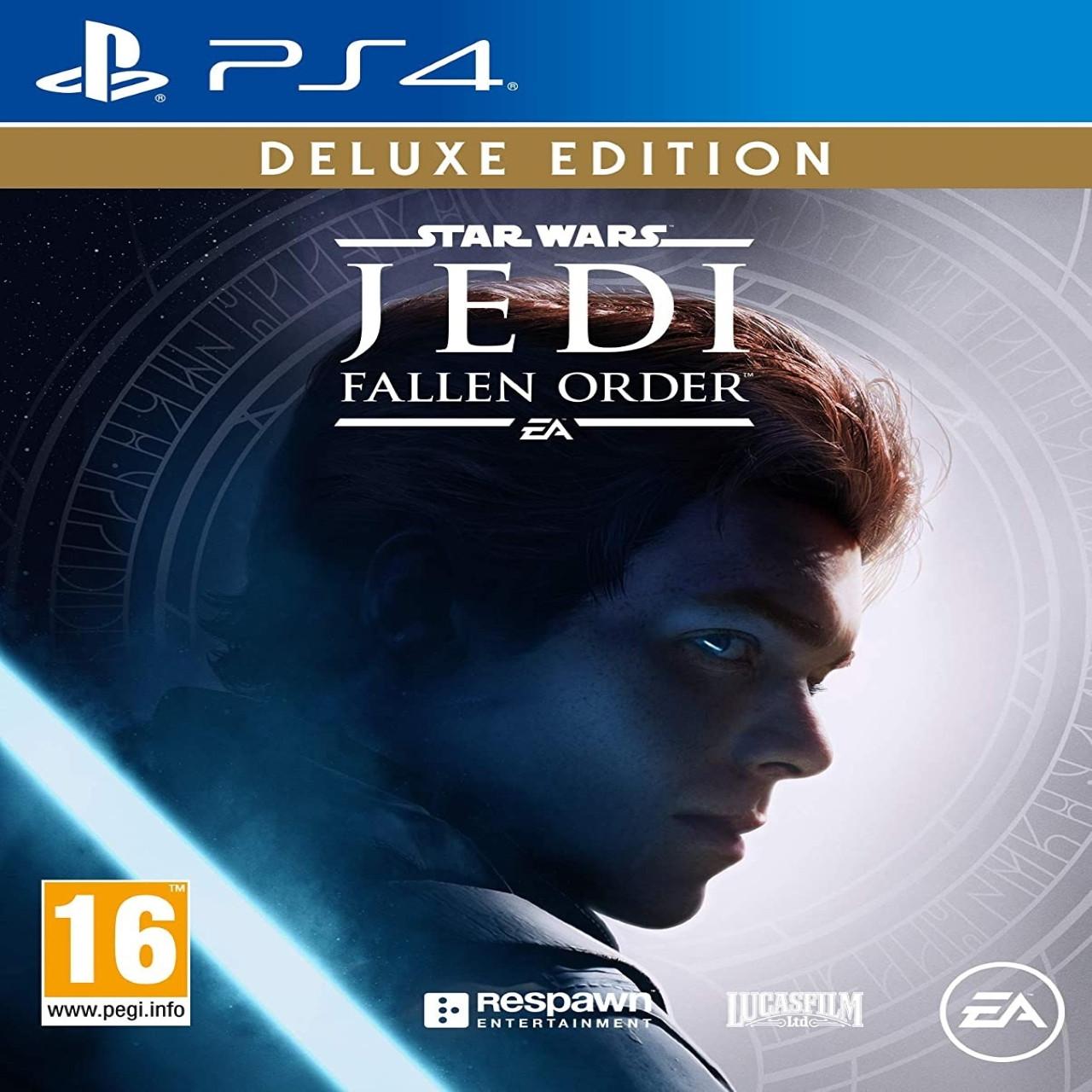 Star Wars Jedi: Fallen Order Deluxe Edition (російська версія) PS4