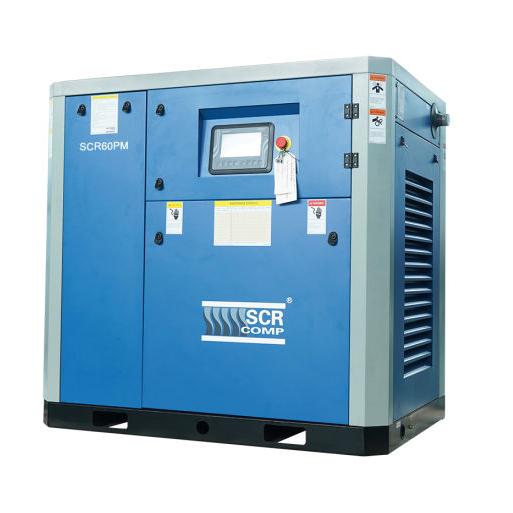 Компресор SCR 60 РМ (45 кВт, 1.46 - 7.3 м3/хв) прямий привід, частотник, двигун на постійних магнітах
