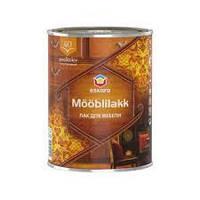 Eskaro Mooblilakk 40 0,9л Водоразбавляемый акриловый лак для мебели и других деревянных поверхностей