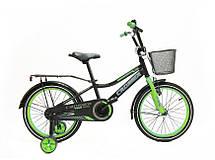"""Дитячий велосипед Crosser Rocky 14"""" помаранчевий, фото 3"""