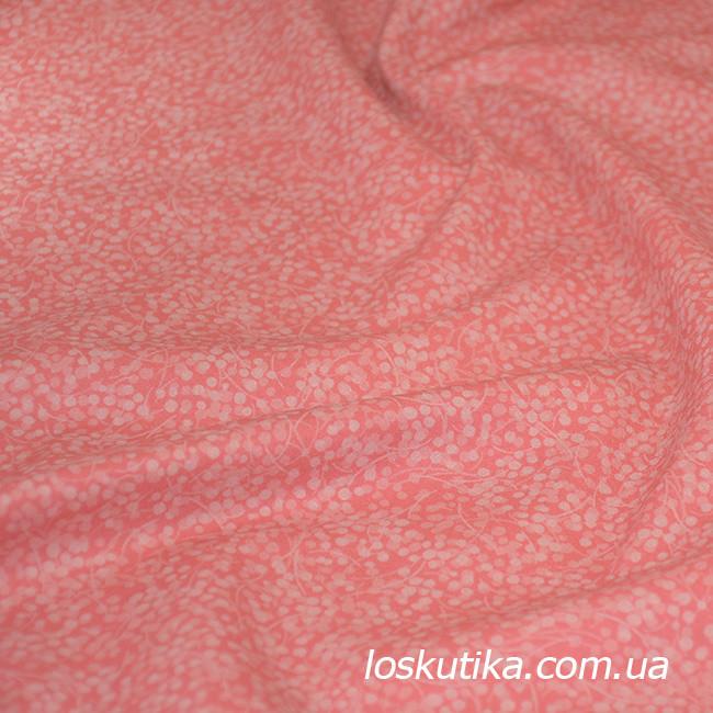 55020 Фоновая ткань с горохом. Ткань в стиле винтаж, неконтрастная. Рукоделие, пэчворк, хендмэйд.