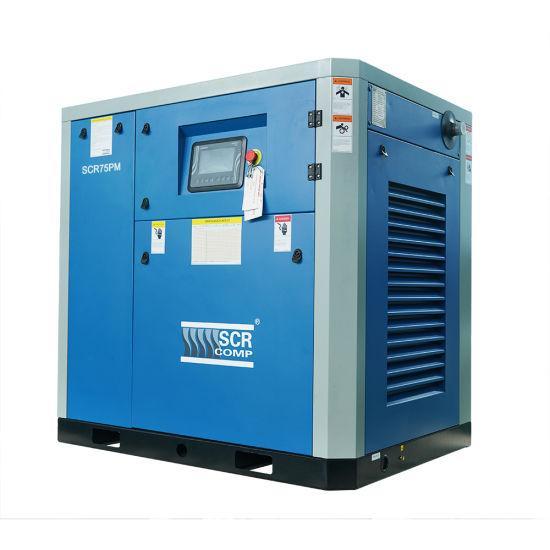 Компресор SCR 75 РМ ( 55 кВт, 2.04 - 10.2 м3/хв) прямий привід, частотник, двигун на постійних магнітах