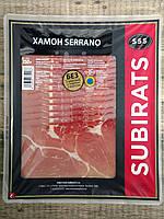 Хамон нарезка Jamon Serrano SSS Subirats, 250g (Испания)