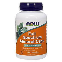 Минералы NOW Foods Full Spectrum Mineral Caps 120 caps