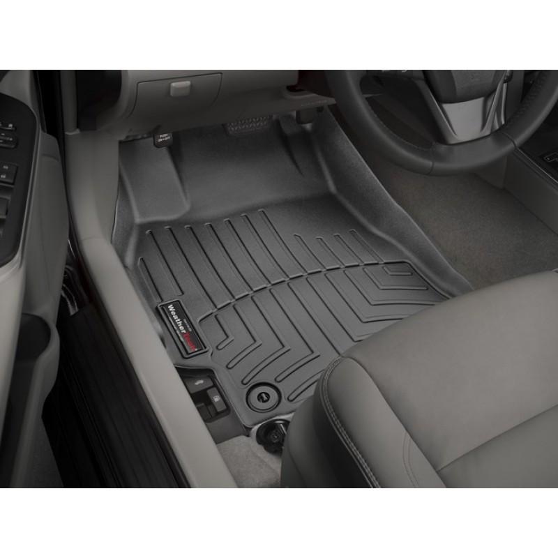 Ковры резиновые WeatherTech Toyota Camry XV55 2015-2017 передние черные